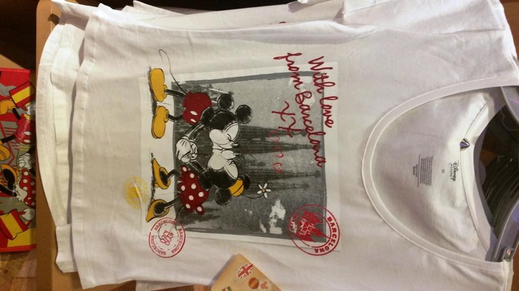 Disney Store - Barcelone 20151013