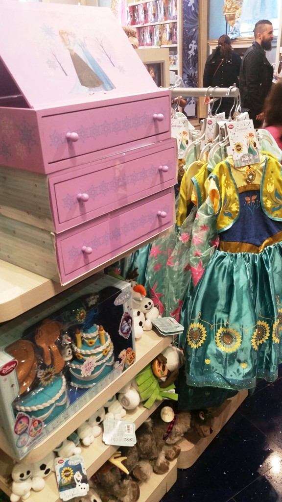 Disney Store - Barcelone 20151022