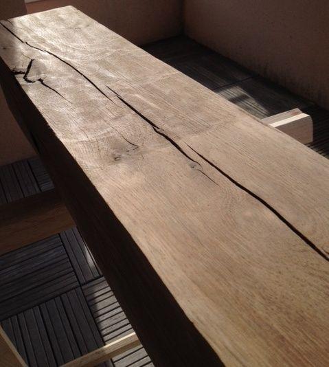 Bout de canapé en chêne Poncag11