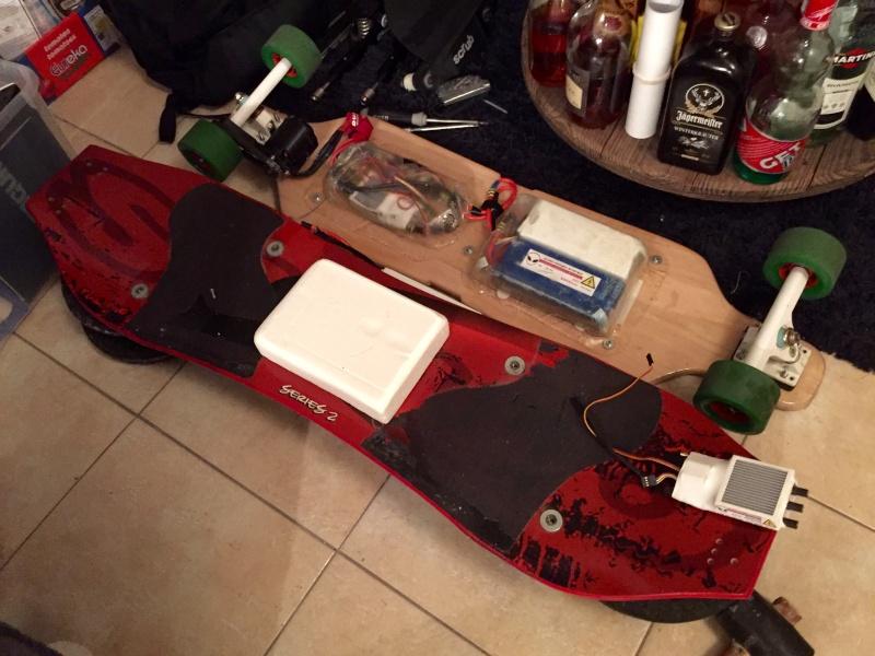 e-MTB   Custom CarbonScrub x Trampa   Willozboard   APS 6.4kW 6374  12S5Ah   VESC Fichie21