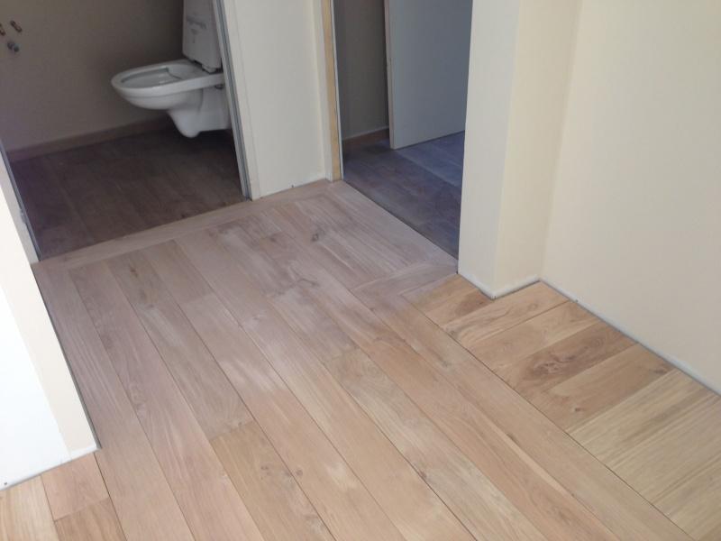 parquet massif chene - Pose d'un parquet chêne collé sur plancher chauffant Img_4312