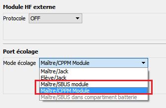 """[Tuto] Écolage sans fil avec OpenTX 2.1 (version """"module JR"""") Tmp16"""