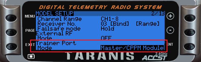 """[Tuto] Écolage sans fil avec OpenTX 2.1 (version """"module JR"""") Tmp17"""