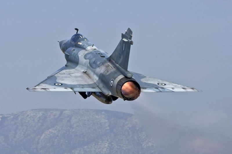 mirage grec - Mirage 2000 C grec + Exocet Mirage11