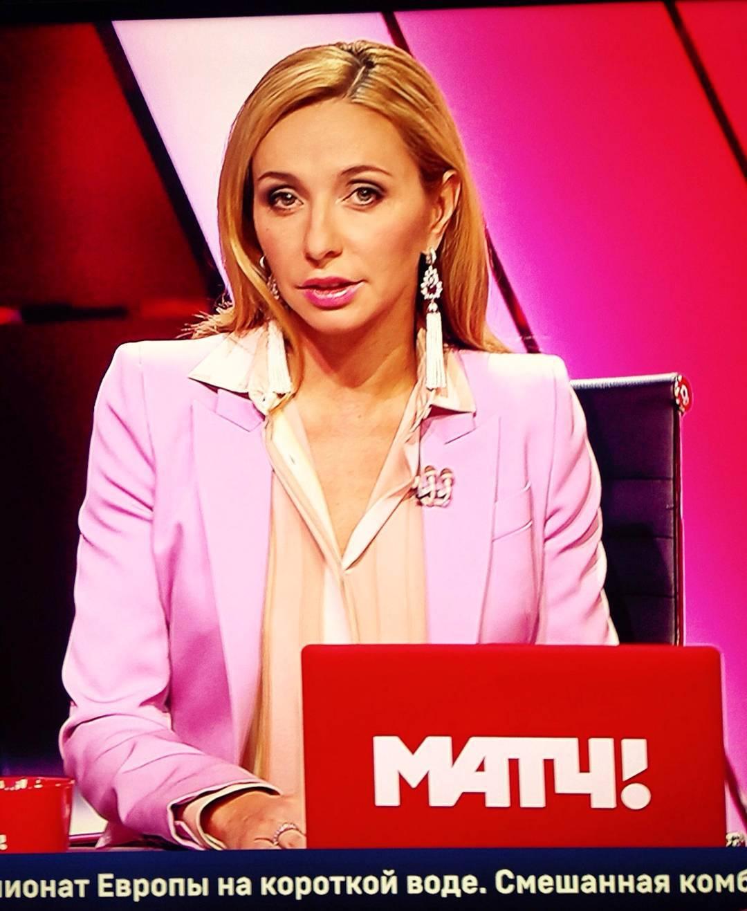 Татьяна Навка - ведущая канала Матч-ТВ - Страница 5 12353810