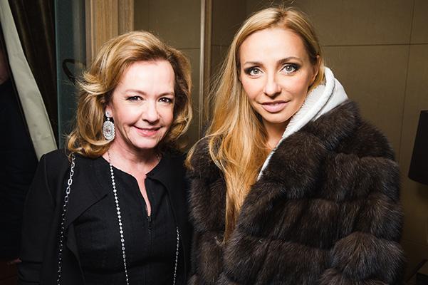 Татьяна Навка - официальный посол бренда Chopard 20151210