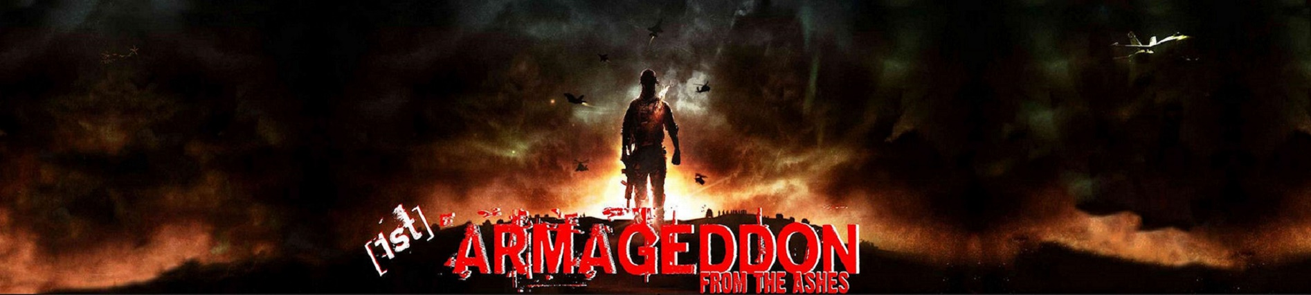 aRmageddon. From the ashes.