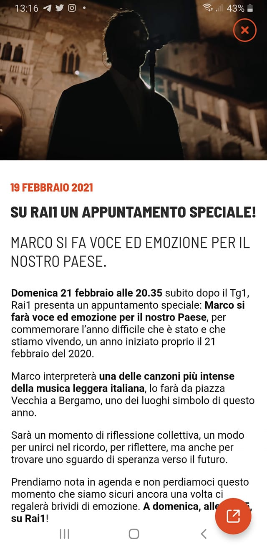 RAI UNO - Speciale Musica per Bergamo 15217710