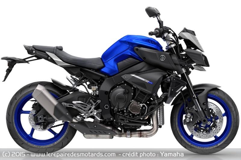 Yamaha lance la ... MT-10 ! Officiel ! Roadst12