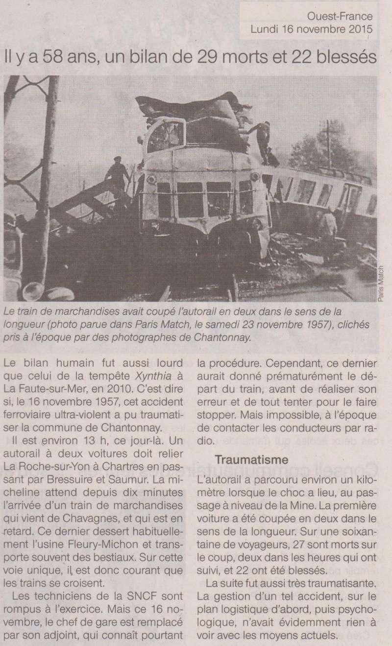16 novembre 1957 - Catastrophe ferroviaire de Chantonnay Chanto11
