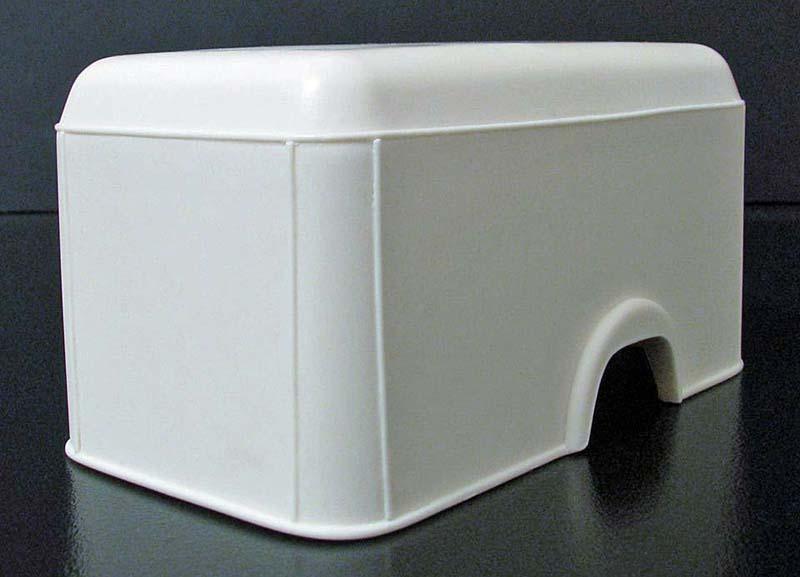 "FORD COE 1952 (4 portes) box cargo ""MOONEYES"": terminé 11231711"