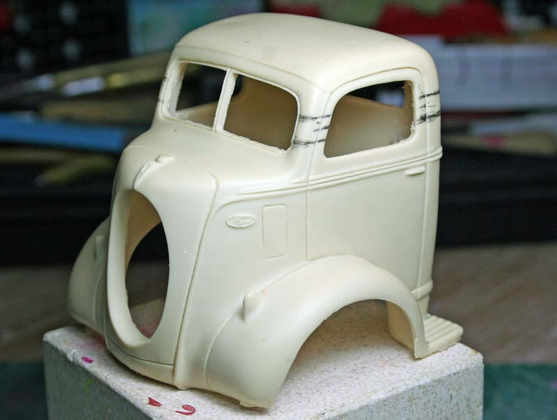 """FORD 1938 COE """" pulling"""": terminé Img_5710"""