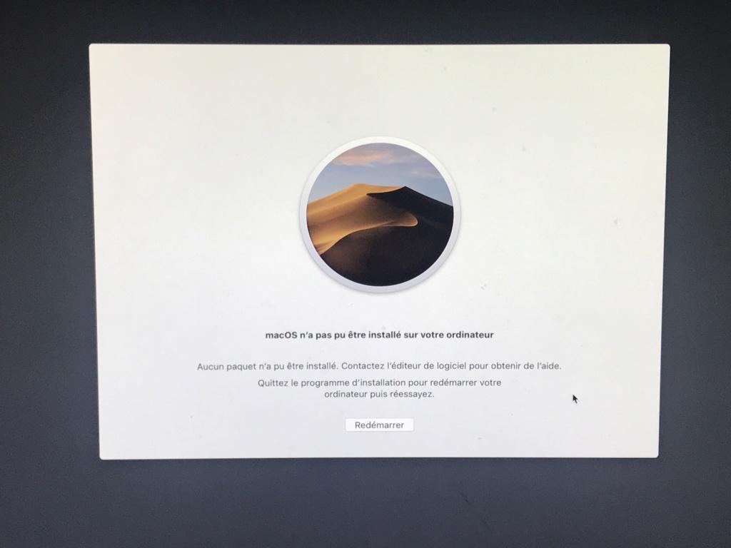 [resolu] Problème installation 10.14 60d90810