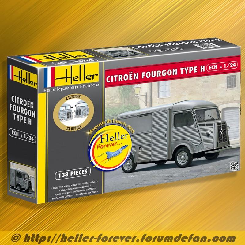une maquette récente dans Hellerpassionmaquettes ... le type H  Citroy12