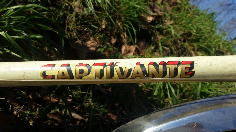 Randonneuse SUPER CAPTIVANTE 1960  20160122