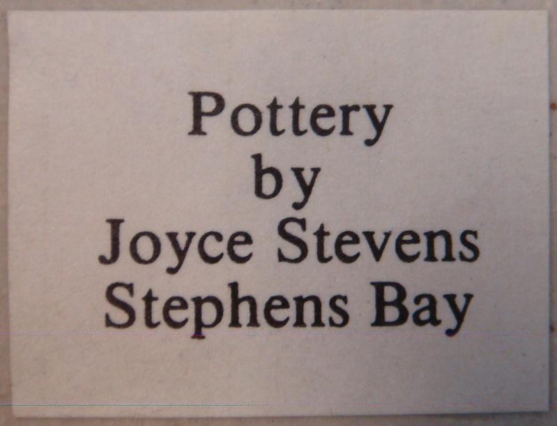 Joyce Stevens mug Dsc09313