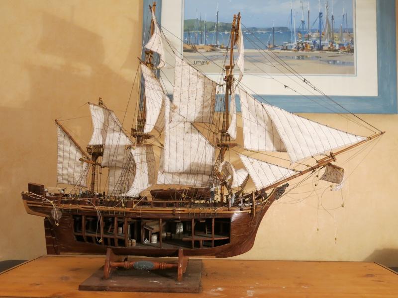 restauration Bounty del Prado au 1/48e B110