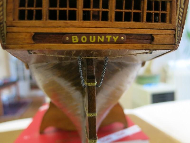 restauration Bounty del Prado au 1/48e B1510