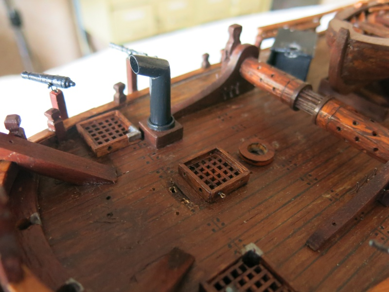 restauration Bounty del Prado au 1/48e B2110