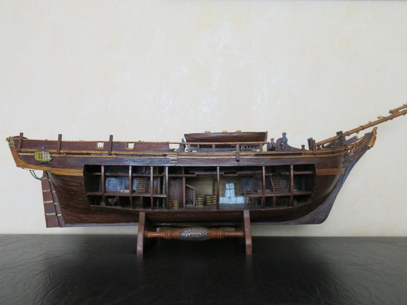 restauration Bounty del Prado au 1/48e B511