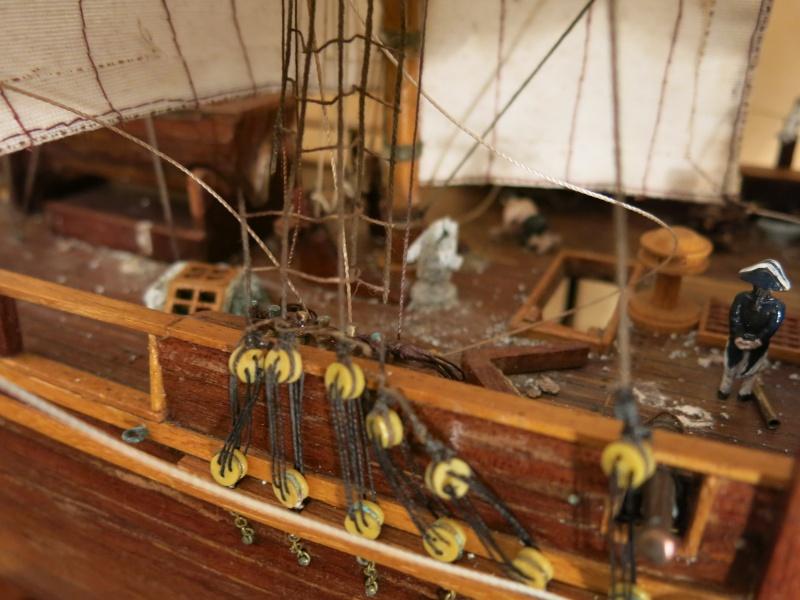 restauration Bounty del Prado au 1/48e B610
