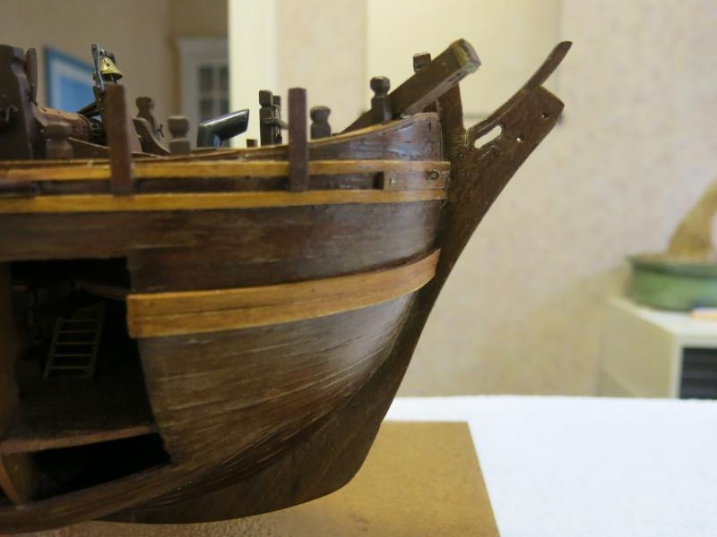 restauration Bounty del Prado au 1/48e B712