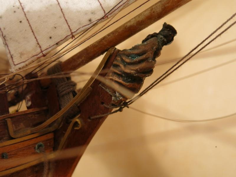 restauration Bounty del Prado au 1/48e B911