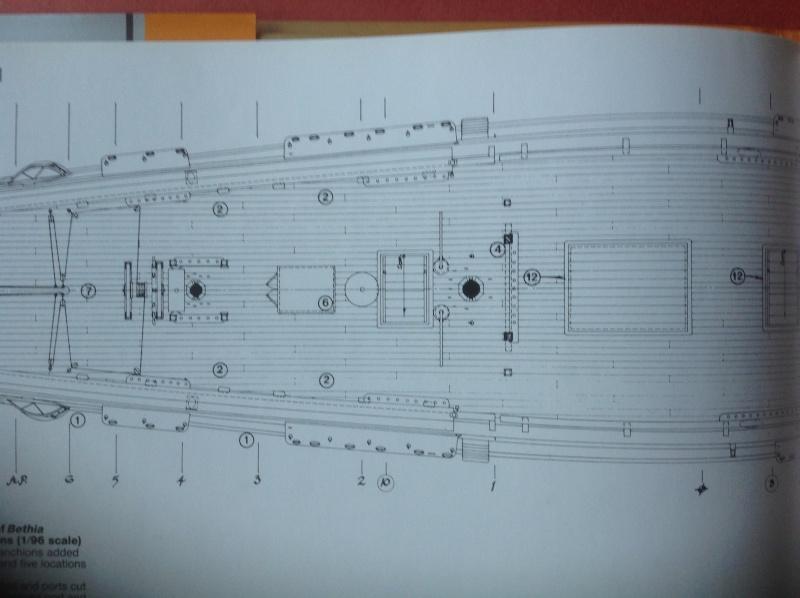 HMAV Bounty de Del prado au 1/48ème - Page 9 Pont11