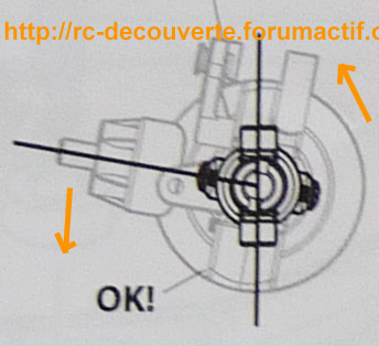 Doit on changer les Fusées et Portes Fusées d'origine en Plastique d'origine pour du Métal sur SCX10 Scale Trial Angle-10