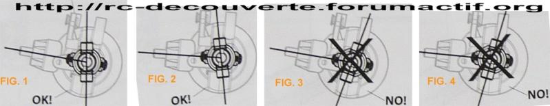 Doit on changer les Fusées et Portes Fusées d'origine en Plastique d'origine pour du Métal sur SCX10 Scale Trial Angle-11