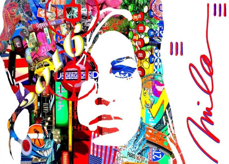 RC Decouverte apprécie et soutien l'artiste contemporaine Mila en participant à ses oeuvres Artist10
