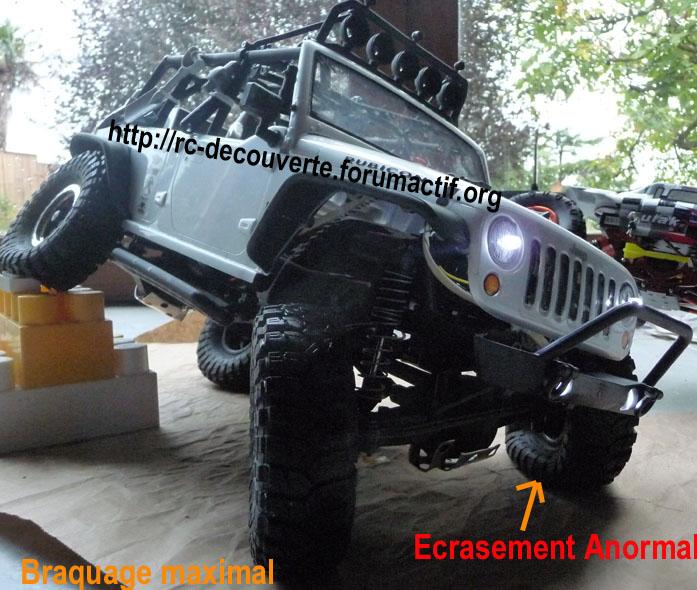Quels pneus sont livrés sur les Axial Scx10, Que Valent les pneus Axial d'origine, En 1.9 ou 2.2, jantes et mousses sur Scale trial et Crawler Ecrase10
