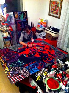 RC Decouverte apprécie et soutien l'artiste contemporaine Mila en participant à ses oeuvres Marie_10