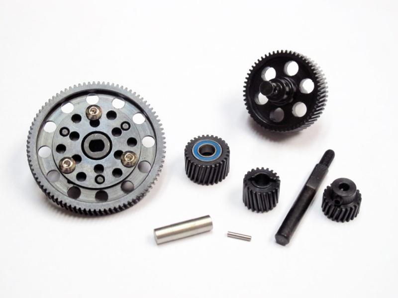 Changer les pignons de boite de transmission d'origine en plastique pour des pignons en métal Pignon12