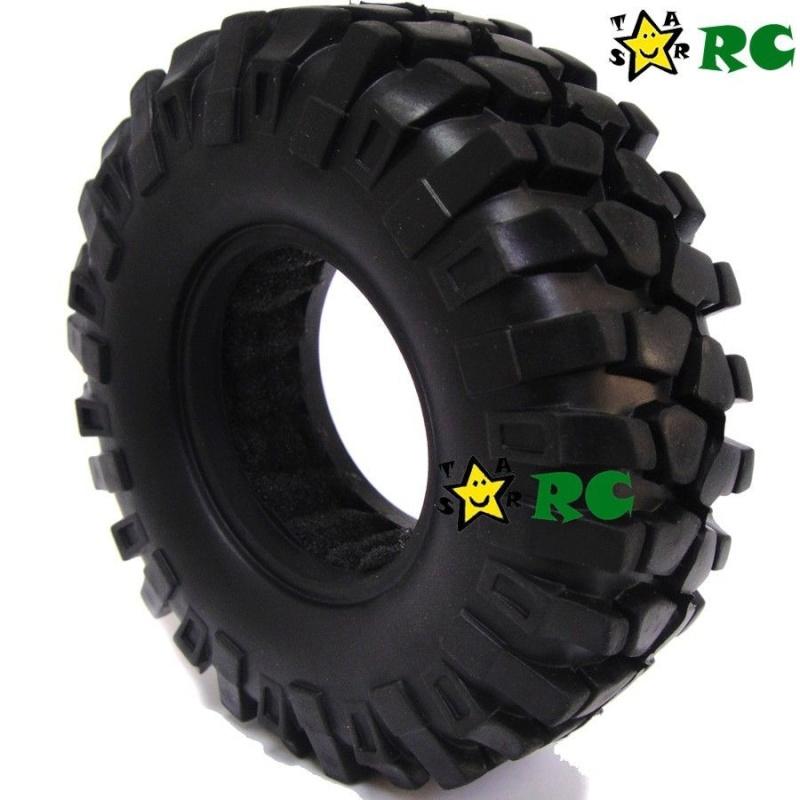 Quels pneus sont livrés sur les Axial Scx10, Que Valent les pneus Axial d'origine, En 1.9 ou 2.2, jantes et mousses sur Scale trial et Crawler Pneus-15