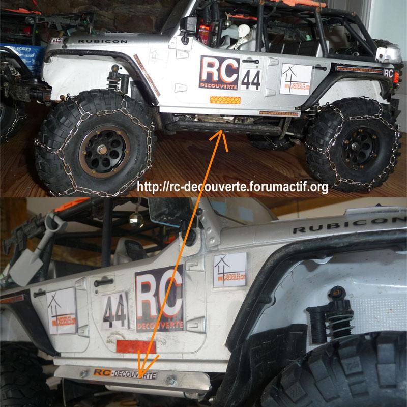 Fabrication home made de pièces à la soudure pour scale trial crawler et autres RC Protec10