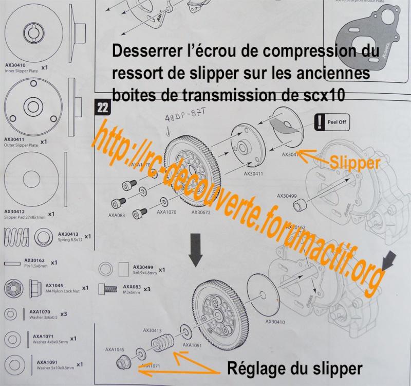 Cardan de transmission plastique ou métal sur scx10 Scale Trial et Crawler Reglag12
