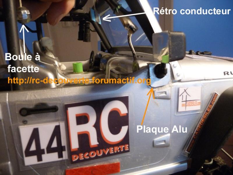 Rétroviseur arraché, Comment réparer une carrosserie Lexan ? Quelle colle utiliser ? Repapr11