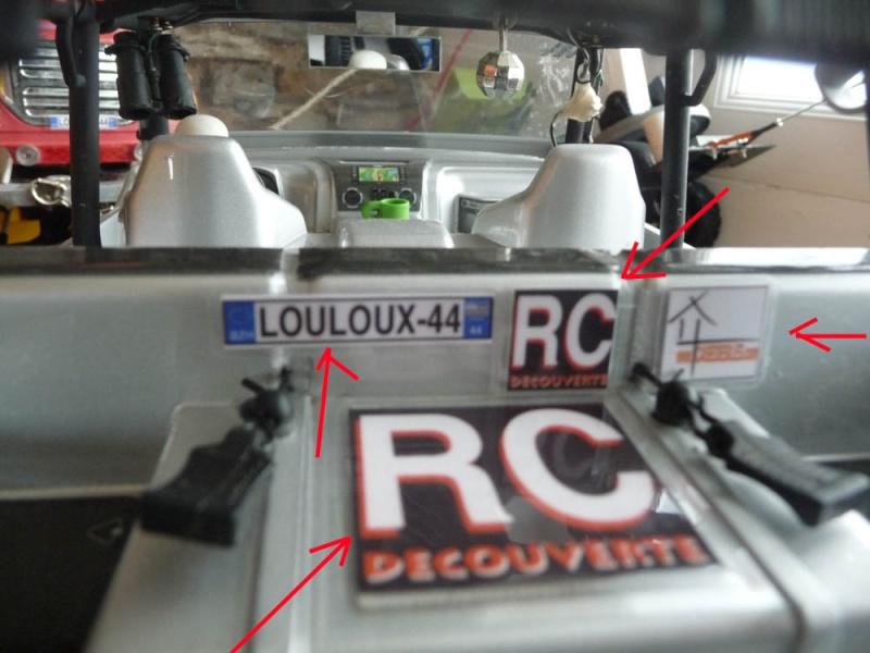 Fabriquer des stickers sur mesure pour Scale Trial 4x4 et Crawler ainsi que les plaques d'immatriculation custom et pas cher Sticke19
