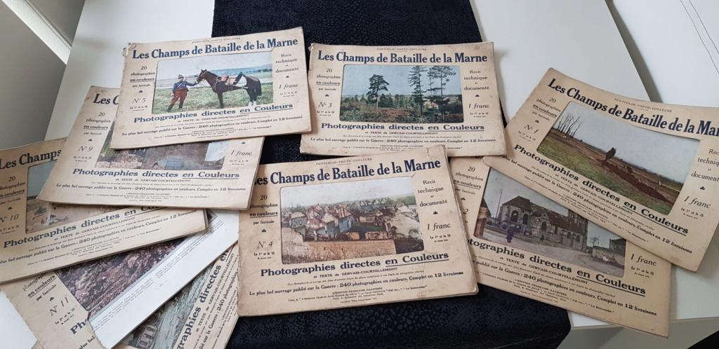 Portfolio-photo-couleurs Les Champs de Bataille de la Marne, édité en 1915 20201014