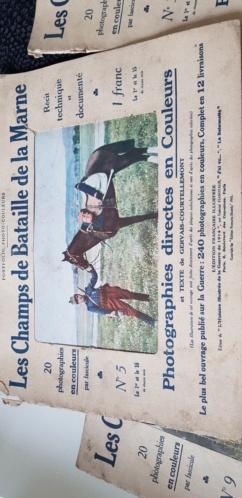 Portfolio-photo-couleurs Les Champs de Bataille de la Marne, édité en 1915 20201015