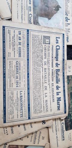 Portfolio-photo-couleurs Les Champs de Bataille de la Marne, édité en 1915 20201016