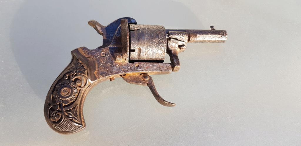 PETIT REVOLVER LE GUARDIAN & AMERICAN MODEL 1878 7 mm, Lefaucheux 20201143