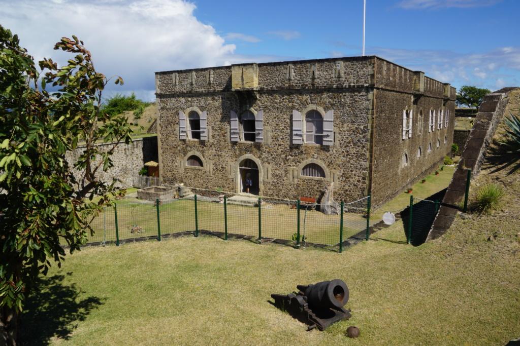 Visite du fort Napoléon  aux saintes Dsc05111