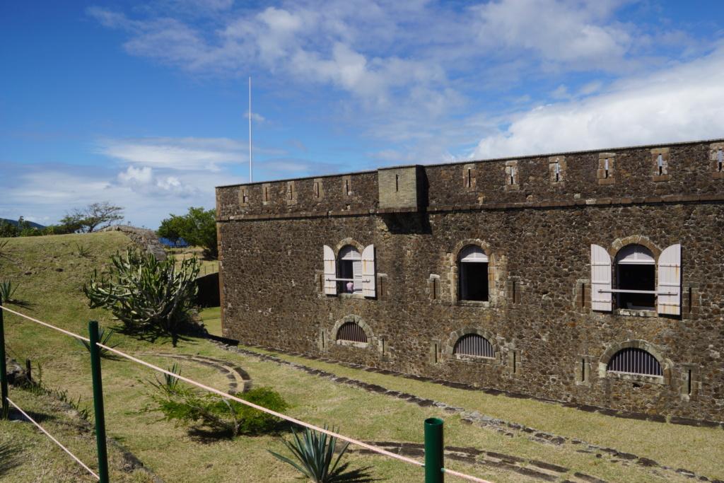 Visite du fort Napoléon  aux saintes Dsc05112