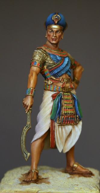Ramses II, terminé. Img_5915