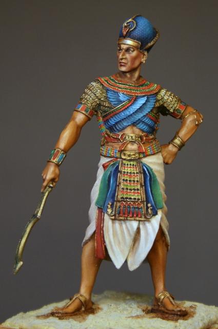 Ramses II, terminé. Img_5916