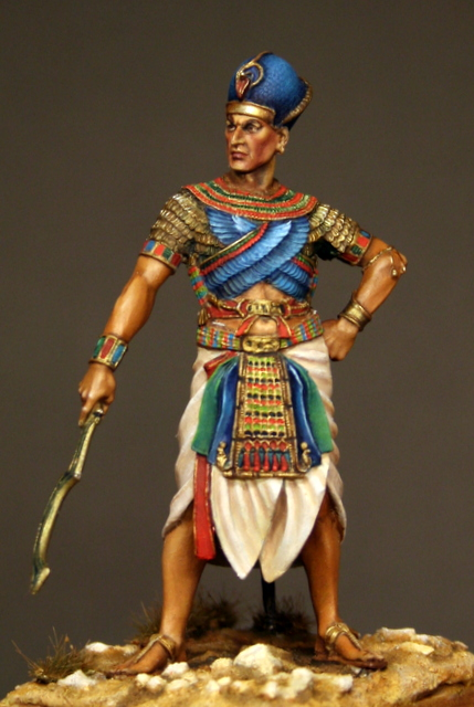 Ramses II, terminé. Img_6011