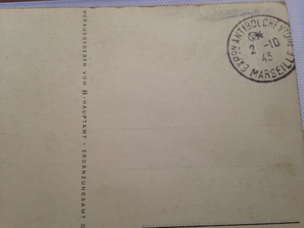 carte postale engagement dans la waffen Img_9526