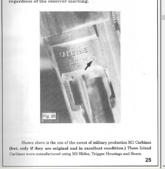 Question marquage US M1 1105